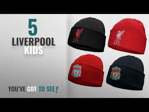 Top 10 Liverpool Kids [2018]: Liverpool FC Official Football Gift Knitted Bronx Beanie Hat