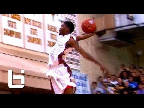 5'11″ Isaiah Dennis CLEARS 6'10″ & 6'7″ Teammates! Eric Mika Wins 2012 City of Palms Dunk Contest!