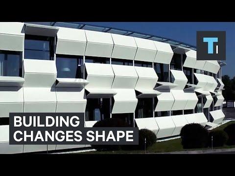 Форма здания изменения