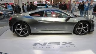 2014 Acura NSX Concept At The 2013  Canadian Int Auto Show Toronto