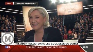 Video Marine Le Pen Mélenchon Fillon Macron Ambiance Tendue avant-débat Présidentiel 20.03.2017 MP3, 3GP, MP4, WEBM, AVI, FLV Juni 2017