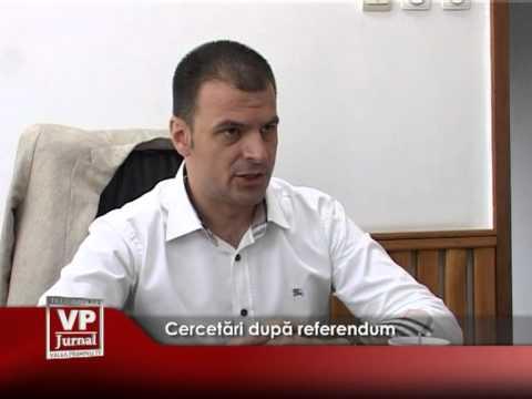 Cercetări după referendum