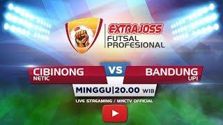 Video NETIC (CIBINONG) VS UPI (BANDUNG) - Extra Joss Futsal 2018 MP3, 3GP, MP4, WEBM, AVI, FLV April 2018