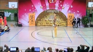 Christina Bischoff-Moos & Lukas Moos - Landesmeisterschaft Hessen 2013-14