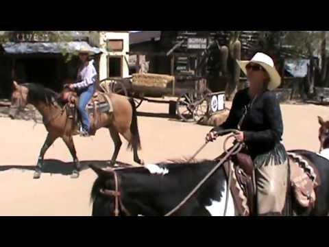 Horseback Riding the Skyline Trail near Yucca Valley, California