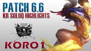 Ekko đi top trong tay cao thủ EDG Koro1 hành nát team địch