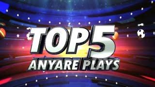 Top 5 Anyare Plays - Jan. 8, 2017 | PBA Philippine Cup 2016 - 2017
