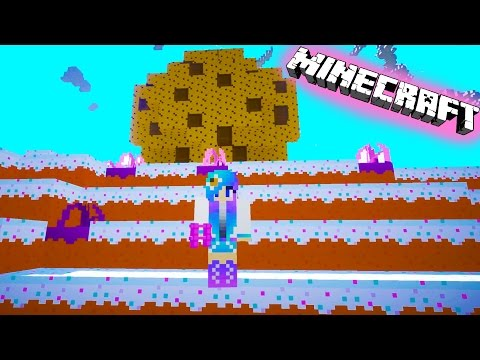 Cookieswirlc Plays Minecraft Candy Sugar Land Gaming Cake World Giant Cookie Building