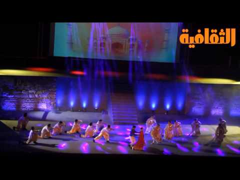 Soirée de Bollywood Express au 50e festival de Carthage Tunisie (видео)