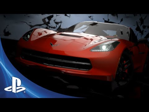 Corvette Stingray Unveil on Gran Turismo 5  2014 Corvette Stingray Dlc