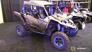 9. 2018 Yamaha YXZ 1000 R SS Sport ATV - Walkaround - 2017 Drummondville ATV Show