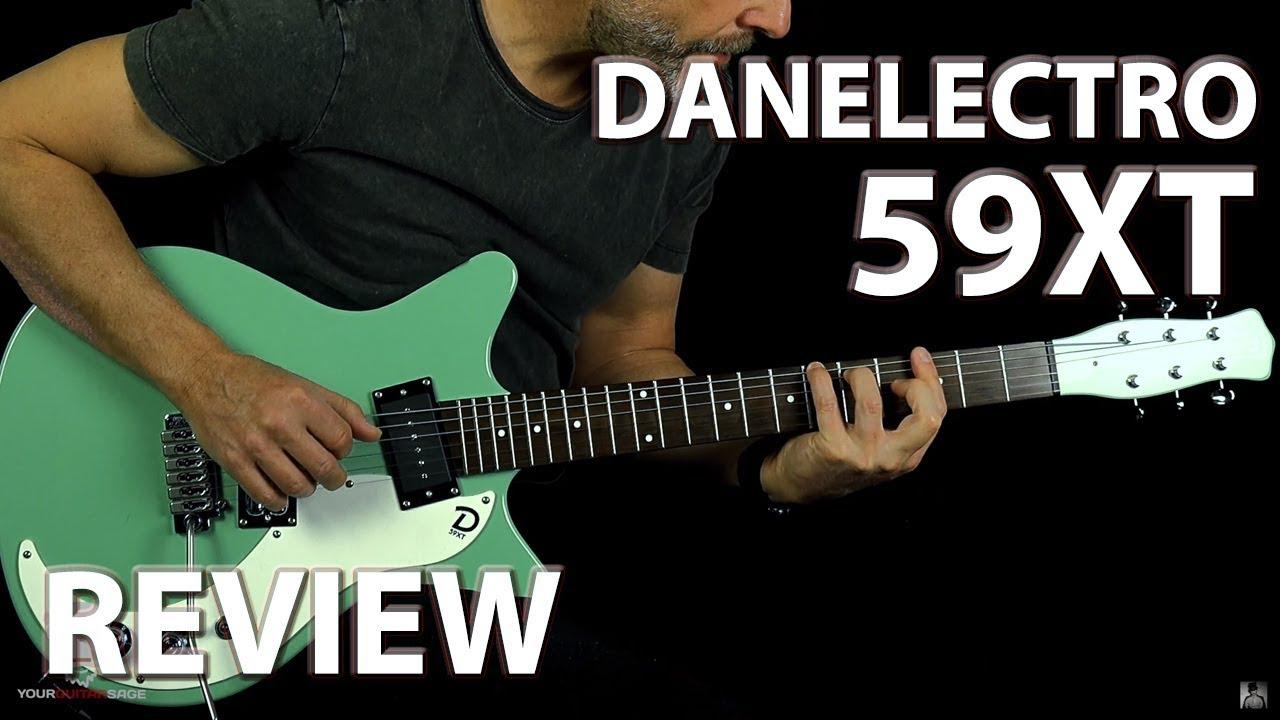 Danelectro 59XT Electric Guitar Review