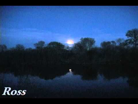 Full Moon Rise Over McTucker Ponds And Nature Sounds Video