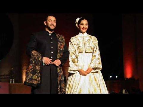 Salman Khan And Sonam Kapoor Rock The Ramp At Khad