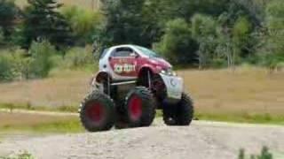 Monster Truck Smart Car