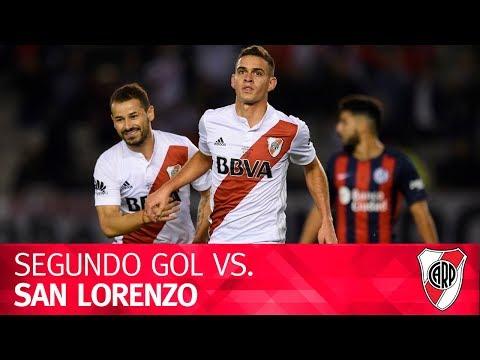 Gol de Rafael Santos Borré vs. San Lorenzo