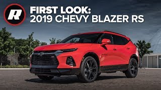 First Look: All new 2019 Chevy Blazer RS by Roadshow