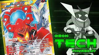 Pokémon Cards - Volcanion EX Deck Profile! | Deck Tech Thursday #21! by The Pokémon Evolutionaries