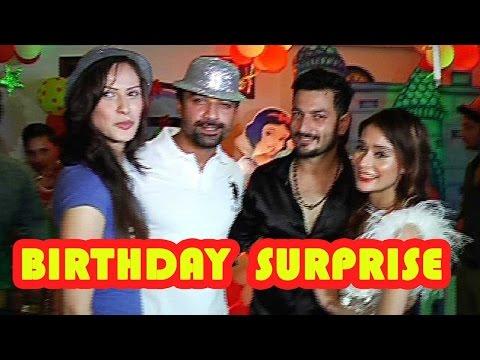 Friends surprise Sara Khan on her birthday