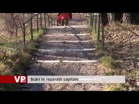 Scări în reparații capitale