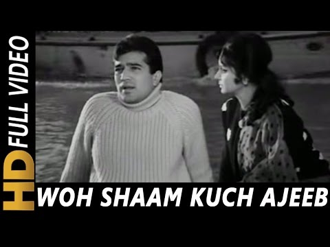 Download Woh Shaam Kuch Ajeeb Thi | Kishore Kumar | Khamoshi 1969 Songs | Waheeda Rehman, Rajesh Khanna HD Mp4 3GP Video and MP3