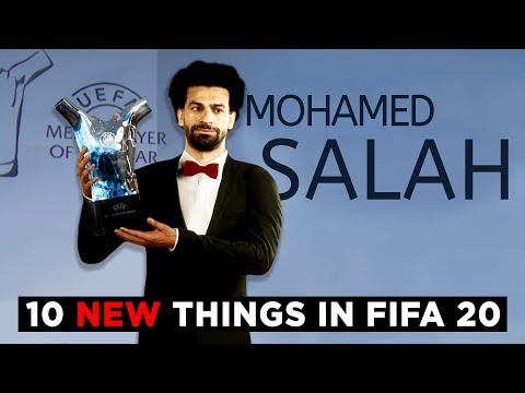 10 NEW AMAZING THINGS IN FIFA 20