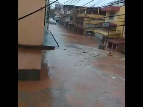 Chuva e desespero em cachoeiro de Itapemirim