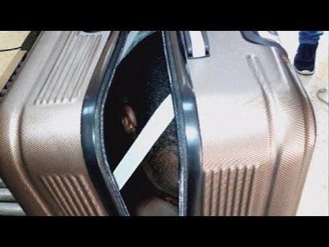 Θέουτα: Έκρυψαν μετανάστη μέσα σε βαλίτσα οι διακινητές