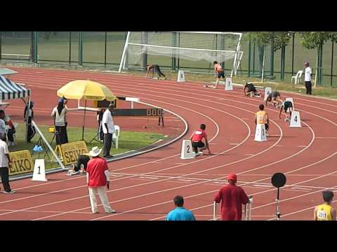 4x100m Olahraga Sukipt : Semi Final (UiTM Lane 3)
