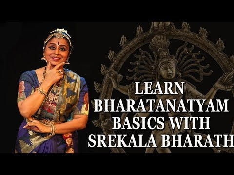 Learn Bharatanatyam Dance - Basic Lessons For Beginners Step By Step - Srekala Bharath - Hand & Feet