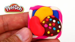 PlayDoh Candy Crush How to make Candy Crush with Play-Doh Easy and Fun way to Make PlayDoh Game Easy - YouTube