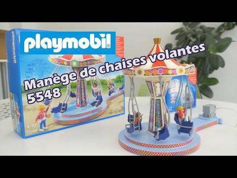 Ref.5548 LE MANEGE DE CHAISES VOLANTES - Summer Fun