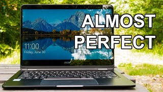 "The Acer Spin 7 is a super thin 14 inch convertible laptop or tablet or tent or monitor, whatever you prefer! It's thin and has a large display along with an Intel core i7 Y cpu, 8gb ram and a giant battery.Subscribe: https://goo.gl/mvLybvTwitter: https://goo.gl/PidWw8Facebook: https://goo.gl/uX86WuMerchandising: https://teespring.com/unicornreviewsPatreon : http://goo.gl/Z1T6tnPayPal support: https://goo.gl/1VEqfZWelcome to Unicorn Reviews, a channel where I review electronics and hardware with a strong focus on computer parts.Feel free to subscribe, it's free and my videos show up in your feed right away for that all important ""FIRST!!"" comment."