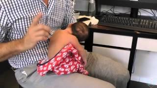 Chiropractor Cracks 4 Day Old Premature Newborn's Back