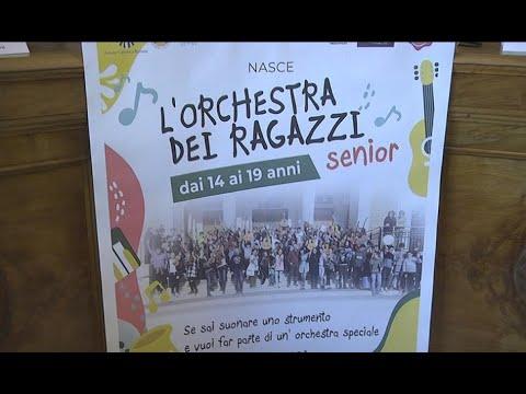 Comune di Avezzano - Presentata L'Orchestra dei Ragazzi Senior