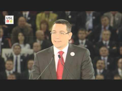 Mesajul lui Victor Ponta pe Arena Nationala catre Romania Puternica