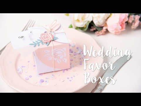 DIY: Wrap Favour Box - Sizzix