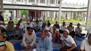 Kh. Anwar zahid di lapas Narkotika Samarinda