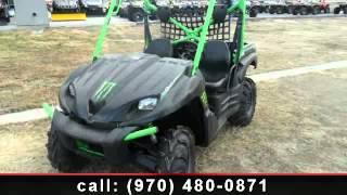 4. 2009 Kawasaki Teryx 750 FI 4x4 Sport Monster Energy - Fort