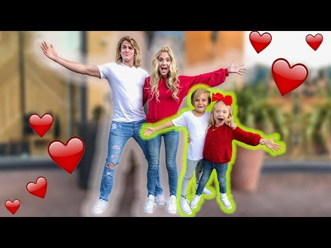 VALENTINES DAY DOUBLE DATE WITH MINI COLE AND SAV!!! (видео)