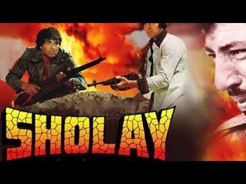 Sholay | 1975 | Amitabh Bachchan | Amjad Khan | Hema Malini |Dharmendra |