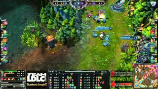 (HD192) LDLC Nashor's Trophy - MyRevenge vs MsH - League Of Legends Replay [FR]