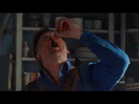 "ASH VS EVIL DEAD Ep. 209 | 2016 | Clip ""Fck You Ash"" HD Bruce Campbell"