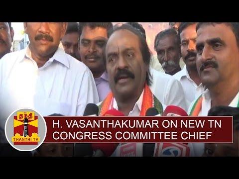 H-Vasanthakumar-on-New-Tamil-Nadu-Congress-Committee-Chief-Thanthi-TV