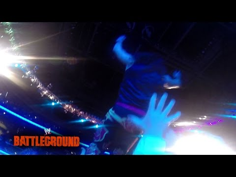 from - An exclusive GoPro camera look at what The Rosebuds see when Adam Rose makes his way to the ring at WWE Battleground 2014. Relive WWE Battleground on WWE Network: http://www.wwe.com/wwenetwork.