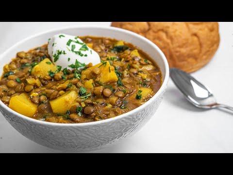 Persian Lentil Soup Recipe - Adasi