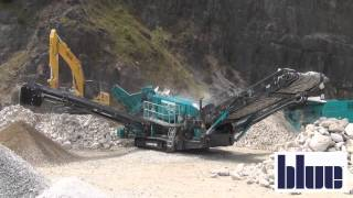 Hillhead 2014 Powerscreen working demonstrations