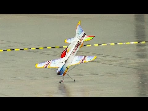 RC Airplane Indoor Aerobatics