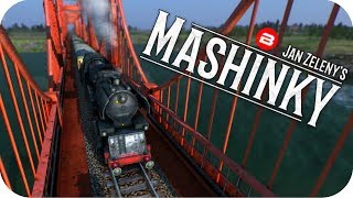 MASHINKY Gameplay - TRANSCONTINENTAL LINE Part 2 - Tycoon Trains Simulator/Railroad Tycoon #7