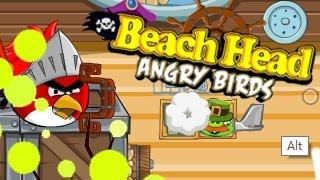 Beach Head Angry Birds Level1-9 Walkthrough